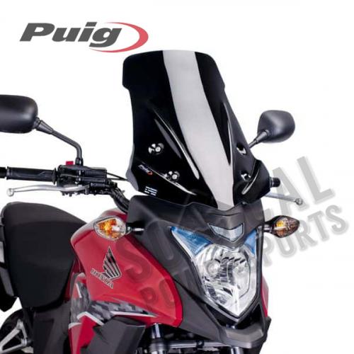 Puig - PUIG Racing Windscreen - Black - 6480N