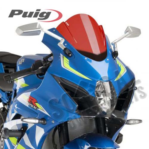 Puig - PUIG Z-Racing Windscreen - Red - 9013R