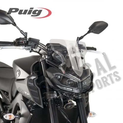 Puig - PUIG Naked New Gen Sport Windscreen - Clear - 9376W