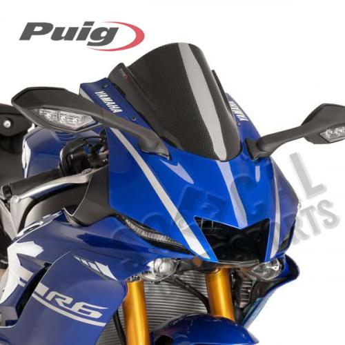 Puig - PUIG Z-Racing Windscreen - Carbon Look - 9723C